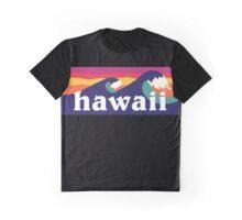 Hawaii - Hawaiian waves Graphic T-Shirt