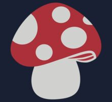 Toadstool fly agaric by Designzz