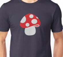 Toadstool fly agaric Unisex T-Shirt