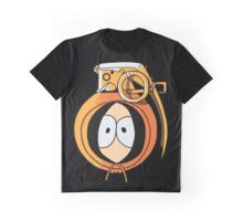 Combustible Orange Graphic T-Shirt