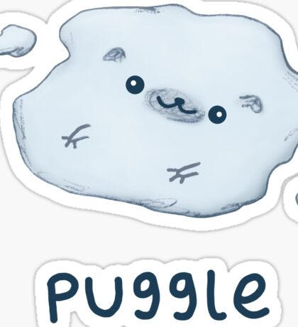 Puggle Sticker
