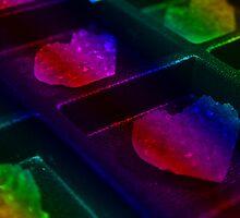 Rainbow Hearts by Jessica Liatys