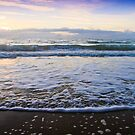 And The Waves Kissed The Sand Good Morning by Bevlea Ross