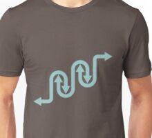 Four Direction Arrows  Unisex T-Shirt