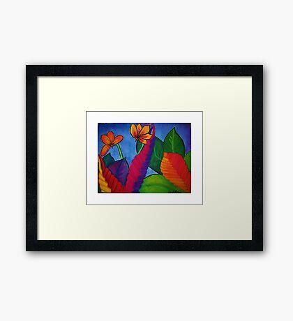 Eve's Garden Framed Print