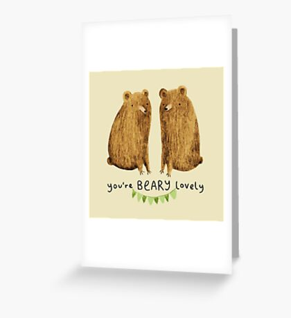 Beary Lovely Greeting Card