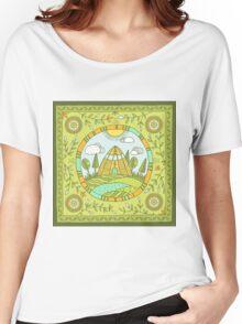 Urasa Women's Relaxed Fit T-Shirt