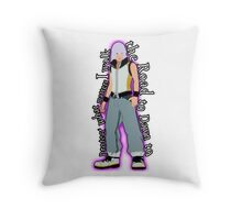 Road to Dawn Throw Pillow