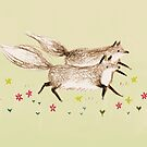 Running Foxes by Sophie Corrigan