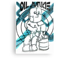 Oil Junkie Canvas Print