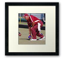 M.B.A. Bowler no. d061 Framed Print