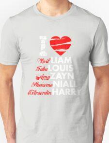 I Heart 1D Unisex T-Shirt