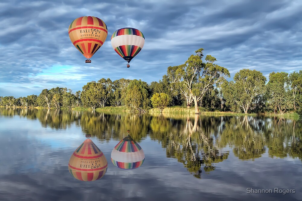 Hot Air Ballooning by Shannon Rogers