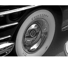 CLASSIC FIRESTONE WHITEWALL Photographic Print