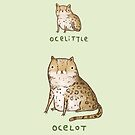 Ocelittle Ocelot by Sophie Corrigan
