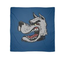 Angry Wolf (Blue Collar) Scarf