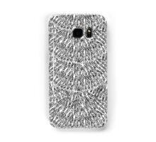 Hand Drawn Feather Scales Samsung Galaxy Case/Skin