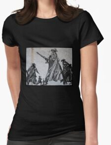 Cow-boys Womens Fitted T-Shirt