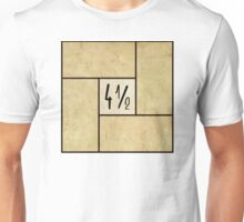 Four and a half Tatami Unisex T-Shirt