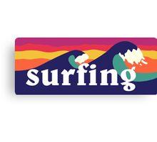 Surf - Mashup Canvas Print