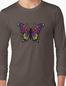 Fantastic Butterfly Long Sleeve T-Shirt