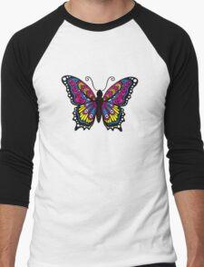 Fantastic Butterfly Men's Baseball ¾ T-Shirt