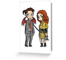 Hannibal - Reporter and dragon Greeting Card