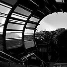 metro walkway by David Tigani