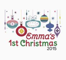 Emma's 1st Christmas Kids Tee