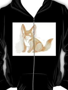Watercolor Fennec Fox Kit T-Shirt