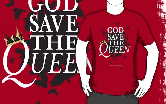 God Save the Queen by JenSnow