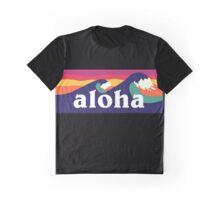 Aloha Hawaii- Hawaiian waves Graphic T-Shirt