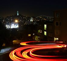 Lombard at Night by fototaker