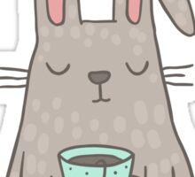 Bunny Tea lover Sticker
