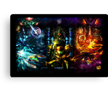 Harmony of a Hunter: 25 Years of Metroid Canvas Print