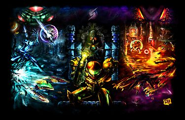 Harmony of a Hunter: 25 Years of Metroid by LightningArts