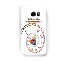 Follow The White Rabbit Samsung Galaxy Case/Skin