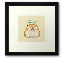 Hungry Hungry Hamster Framed Print