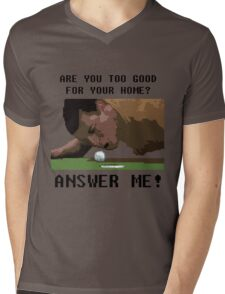 Happy Gilmore 8 bit style Mens V-Neck T-Shirt