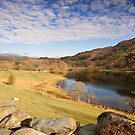 Rydal Water Cumbria by John Hare
