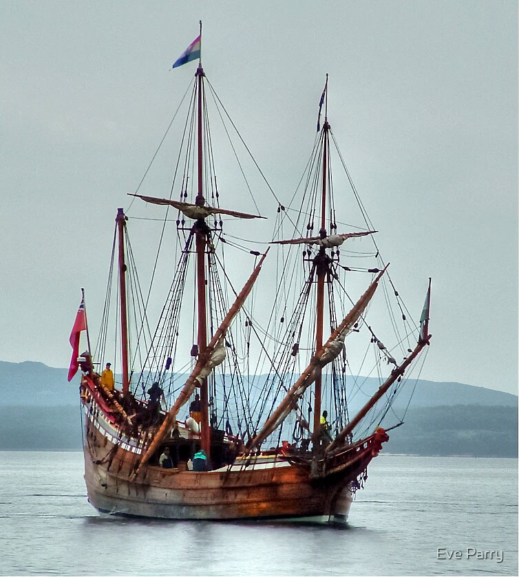 The Duyfken # 2  by Eve Parry