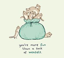 Sack of Weasels by Sophie Corrigan