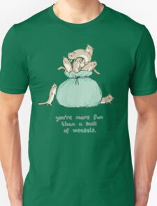 Sack of Weasels Unisex T-Shirt