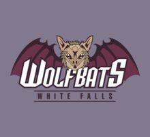 White Falls Wolfbats Kids Tee