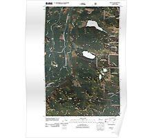 USGS Topo Map Washington State WA Mount Si 20110428 TM Poster
