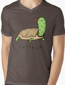 Cactoise Mens V-Neck T-Shirt