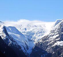Briksdal glacier, Norway by buttonpresser