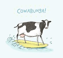 Cowabunga! by Sophie Corrigan