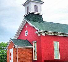 Darkesville United Methodist Church by James Brotherton