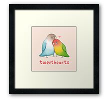 Tweethearts Framed Print